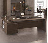 CATER EXECUTIVE OFFICE DESK WITH LEFT OR RIGHT SIDE RETURN - 750(H) X 2200(W) - TWO TONED