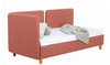 BRISKA  DAY BED WITH MATRESS - BURNT UMBER