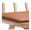 ZANA DINING CHAIR  SEAT: 460(H) -  TAN + SOLID ASH