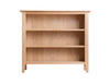 ROBINHOOD (NT-SWBC) SMALL WIDE BOOKCASE WITH 3 SHELVING UNIT - 900(H) X 900(W) - OAK