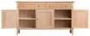 ROBINHOOD  (NT-3DS)  SIDEBOARD  BUFFET WITH 3 DOORS  & 3 DRAWERS - 1400(W) X 420(D) - OAK