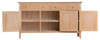 ROBINHOOD (NT-3DS) SIDEBOARD / BUFFET WITH 3 DOORS  & 3 DRAWERS - 1400(W) X 420(D) - OAK