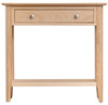 ROBINHOOD (NT-CON) CONSOLE HALLWAY TABLE WITH DRAWER - OAK