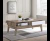 BARTEL SCANDINAVIAN  COFFEE TABLE -1200(W) X 600(D) - OAK