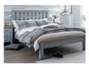 DOUBLE SPENCER (TT-46-G) BED FRAME ONLY - GREY / LIGHT OAK (2 TONE)