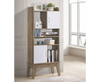 NEOLEEN  1515(H) DISPLAY CABINET (V80-NB DC6315-OK) - WHITE /OAK