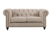 SOLOMONIA  THREE SEATER (3S)   FABRIC   SOFA LOUNGE -  (MODEL - 12-15-21-9-19-91-14-1) - NATURAL
