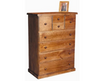 FEDERATION 8 DRAWERS  TALLBOY CHEST - 1330(H) x 1000(W) - COLOUR AS PICTURED