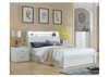 DOUBLE CHICAGO HEADBOARD ONLY - (LS-120D) - HIGH GLOSS WHITE