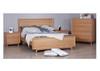 SPRINGWOOD  2 DRAWER BEDSIDE TABLE - OAK WHITE