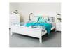 SINGLE  BALLINA PANEL BED - WHITE