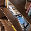 HARVEY PARK BOOKCASE - 1788(H) X 760(W) - WALNUT