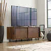 HARVEY PARK  ENTERTAINMENT UNIT  -540(H) X 1372(W) - WALNUT
