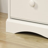 POGO 4 DRAWER TALLBOY CHEST - 1082(H) x 764(W)- SOFT WHITE