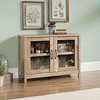 CANNERY BRIDGE DISPLAY CABINET - LINTEL OAK FINISH