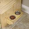 CANNERY INDOOR DOG  HOUSE - LIGHT PINE FINISH