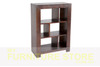 DERBY (AUSSIE MADE) LOWLINE STAGGERED ROOM DIVIDER 3 x 3 (NO BACK) - 900(H) X 900(W) - ASSORTED COLOURS