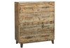 LOFTWOOD (BOOKEND) QUEEN  6 PIECE (THE LOT) BEDROOM SUITE - WOOD CRATE