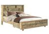 LOFTWOOD  QUEEN PANEL 6   PIECE   (THE LOT)   BEDROOM SUITE   - WOOD CRATE
