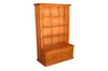 MUDGEE (AUSSIE MADE) BOOKCASE COMBO WITH PULL OUT DRAWER - 1800(H) x 900(W) - ASSORTED COLOURS