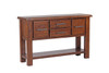 CARGO  CONSOLE - HALLWAY TABLE WITH 4 DRAWERS   - COUNTRY RUSTIC