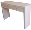 MORGAN  2 DRAWERS CONSOLE / HALL TABLE  - TASSIE OAK 1100(W)     - ASSORTED COLOURS