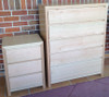 MORGAN 6 DRAWER TALLBOY - TASSIE OAK - ASSORTED COLOURS