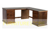 MUDGEE (D10) CORNER OFFICE TABLE + 6 DRAWERS (AUSSIE MADE) - 1800(W)/1600(W) x 600(D) -  ASSORTED COLOURS