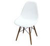 PARIS DINING CHAIR - 800(H) X 550(W) - WHITE