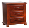 FEDERATION KING 4 PIECE (TALLBOY ) BEDROOM SUITE  - LIGHT MAHOGANY