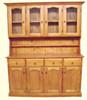 MUDGEE / STANDARD BUFFET AND HUTCH (AUSSIE MADE) - 4 DOOR / 4 DRAWER - 2000(H) x 1700(W) -  ASSORTED COLOURS
