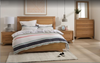 AVANTI  DOUBLE  OR QUEEN  5 PIECE (DRESSER) BEDROOM SUITE - ASSORTED COLOURS