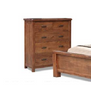 JAYDEN   KING 3 PIECE  BEDSIDE BEDROOM SUIT  (3729) BED WITH PADDED HEADBOARD (MODEL - 7-5-15-18-7-9-1) - NUTMEG
