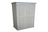 MUDGEE (AUSSIE MADE) TIMBER 2 DOOR WARDROBE - 1800(H) x 900(W) - WHITE