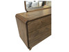 ALBERDINE  DRESSING TABLE WITH MIRROR   -  (MODEL-1-12-5-24-1-14-4-18-1) - NATURAL