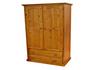 MUDGEE (AUSSIE MADE) WARDROBE 2 DOOR / 2 DRAWER - 1890(H) x 900(W) - ASSORTED COLOURS