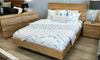 BUENO KNG 6   PIECE (THE LOT )  BEDROOM SUITE - (MODEL-1-19-20-9-14-1) - NATURAL