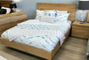 BUENO KING 4 PIECE (TALLBOY)  BEDROOM SUITE - (MODEL-1-19-20-9-14-1) - NATURAL