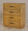 SYRACUSE 4 DRAWER TALLBOY CHEST - (MODEL:1-21-7-21-19-20) -  AS PICTURED
