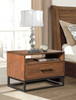 ALPINE BEDSIDE TABLE WITH 1 DRAWER - AS PICTURED