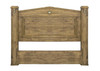 KING SUFFOLTK SOLID TIMBER BEDHEAD ONLY  -  BLACK WASH