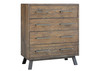 PATERSON 4 DRAWER TALLBOY CHEST  - HERITAGE WHARF