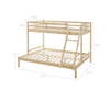 CELINA SINGLE OVER DOUBLE (TRIO) BUNK BED - NATURAL