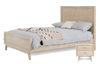 LORRETTA  DOUBLE OR QUEEN 3 PIECE BEDROOM SET (MODEL:3-15-18-18-9-5) - DRIFTWOOD FINISH