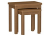 EMINENCE OAK NEST OF 2 TABLES  (18-1-15)  - RUSTIC OAK