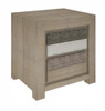 CHATEAU 2 DRAWER BEDSIDE TABLE - AS PICTURED