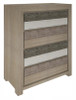 CHATEAU 4 DRAWERS TALLBOY- AS PICTURED