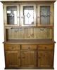 KENT 3 DOOR 3 DRAWER BUFFET WITH HUTCH - 2000(H) x 1250(W) - GREYWASH , WALNUT , BALTIC