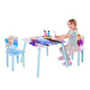 DISNEY FROZEN II KIDS TABLE AND CHAIR SET -  AS PICTURED
