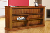MUDGEE / DRAGON LOWLINE BOOKCASE (3 X 5) - 900(H) X 1500(W) - STAINED